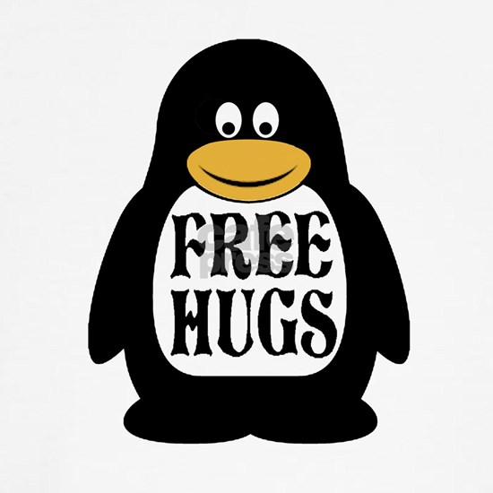 Free Hugs Penguin