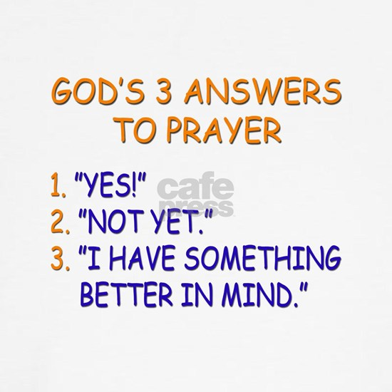 GODS ANSWERS TO PRAYER