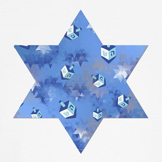 Judaica Dreidels Stars Star Of David