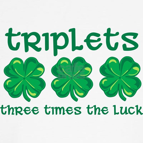 Triplets 3 times luck