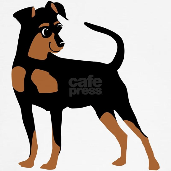Cartoon Miniature Pinscher 2