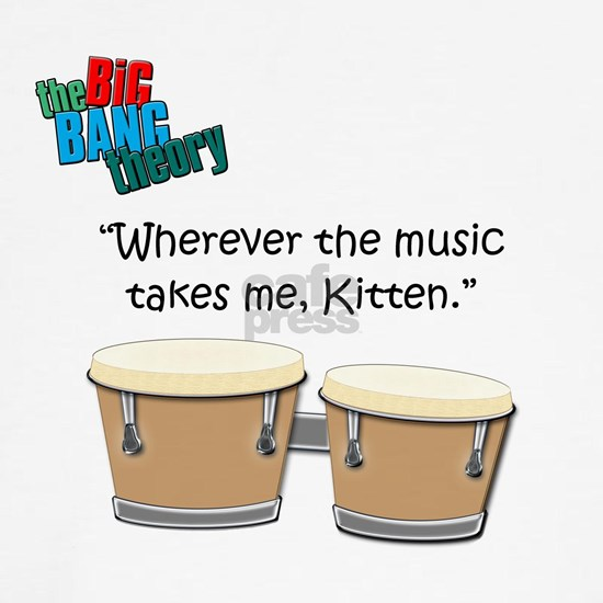 Music takes me kitten copy