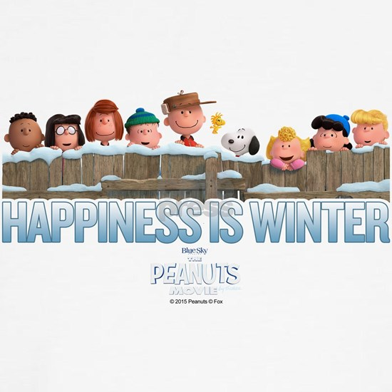Peanuts - Happiness is Winter