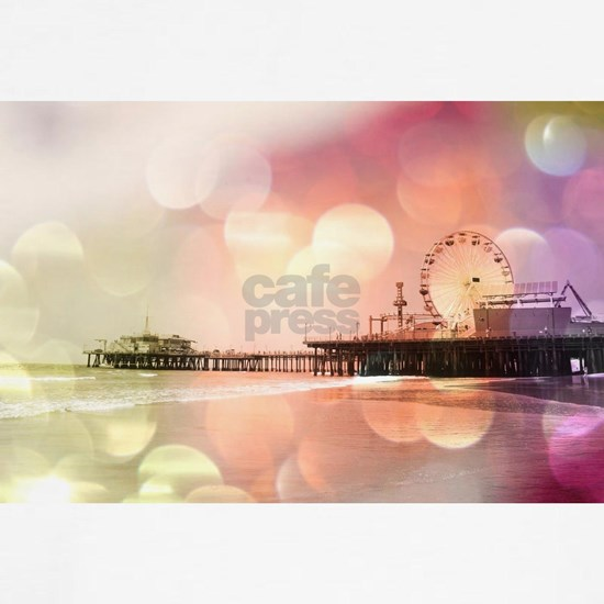 Pink Santa Monica Pier