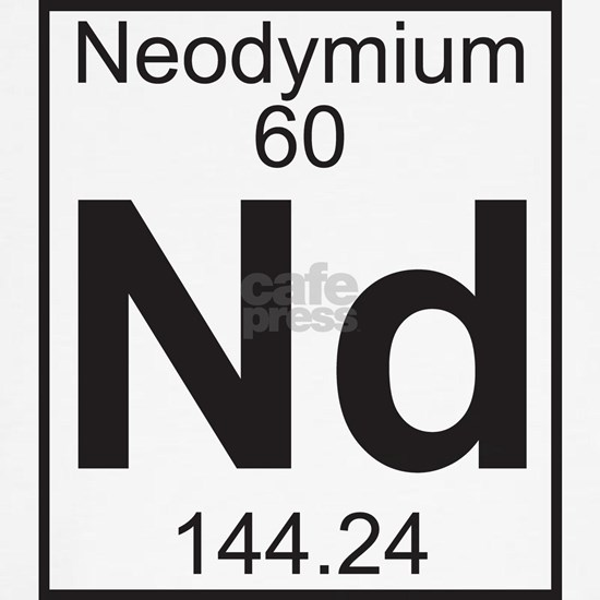 Element 060 - Nd (neodymium) - Full