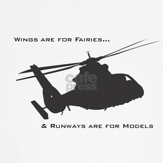 Wings are for fairies