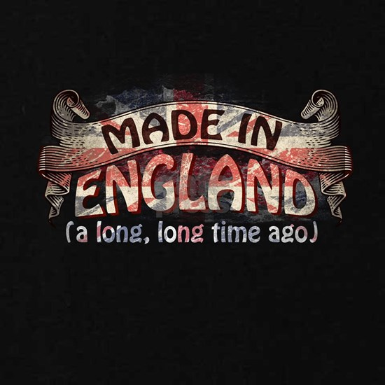 Heritage Tshirt - Made in England, a long, long ti