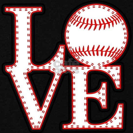 Love Baseball Laces Light