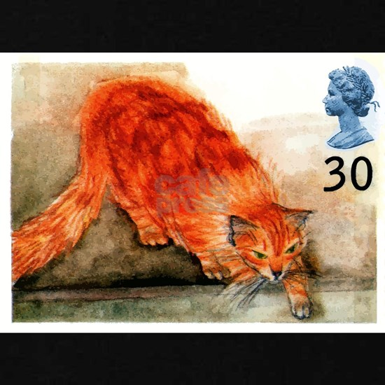 1995 Great Britain Ginger Cat Postage Stamp