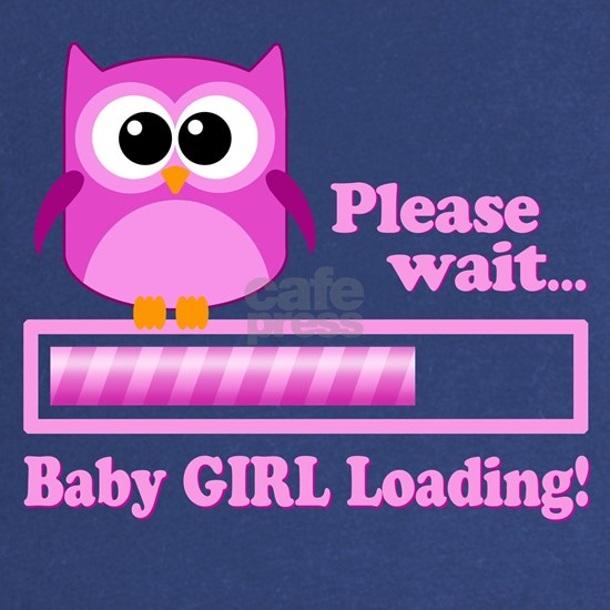 Cute Owl - Baby Girl Loading