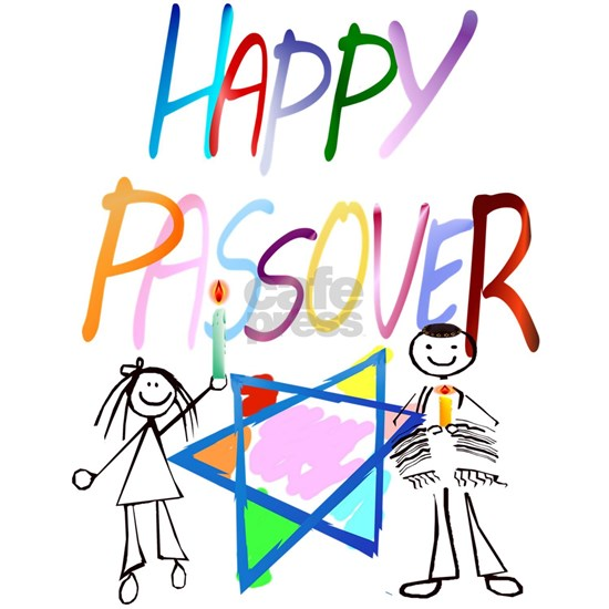 Colorful Happy Passover Trans