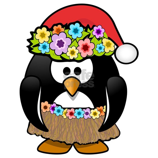 Christmas In Summer Penguin