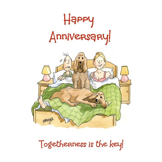 Happy Anniversary - togetherness is the key!