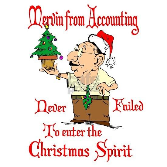 Christmas Accountant.Christmas Accountant Greeting Card