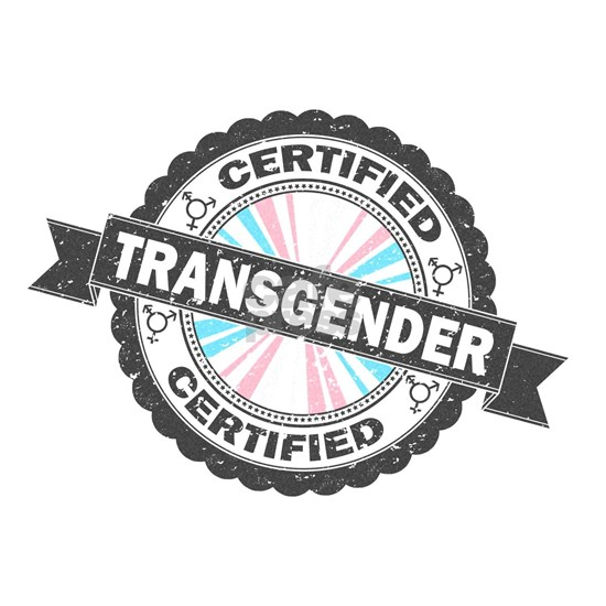 Certified Transgender Stamp