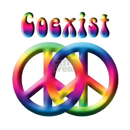 Peace Together Coexist