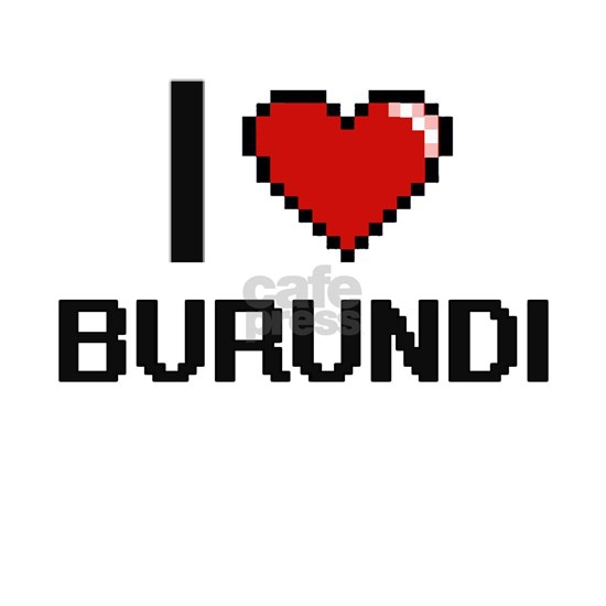 I Love Burundi Digital Design