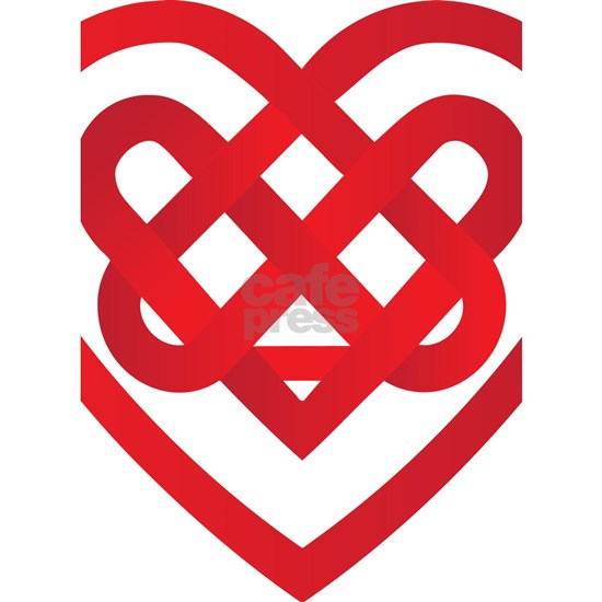 Celtic Knot Valentine Irish