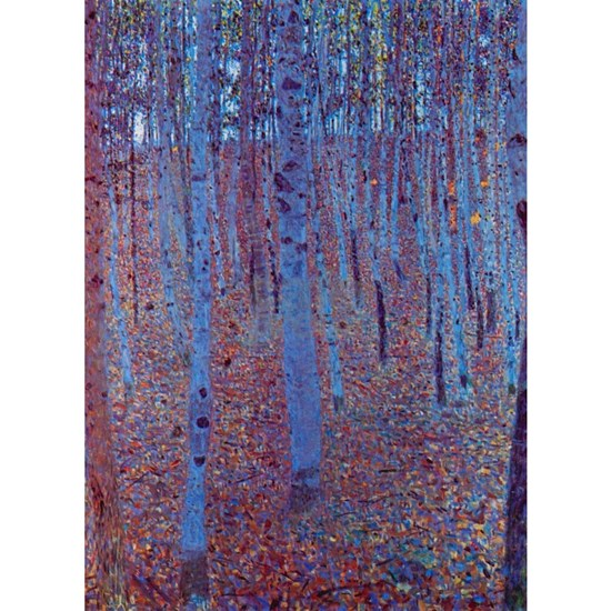 Beech Forest by Gustav Klimt