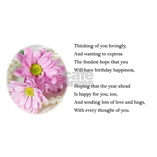 88th Birthday card with daisies