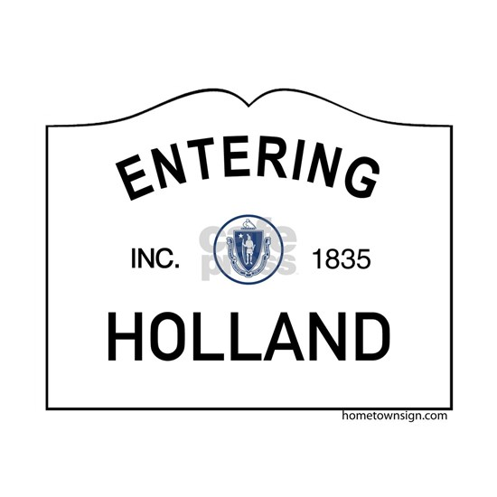 Holland Note Cards (Pk of 10) by Massachusetts Sign Shirts