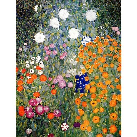 Gustav Klimt Flower Garden
