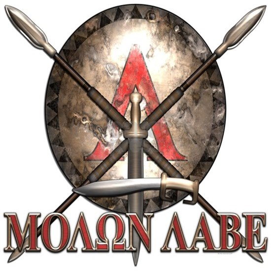 Molon Labe - Spartan Shield and Swords