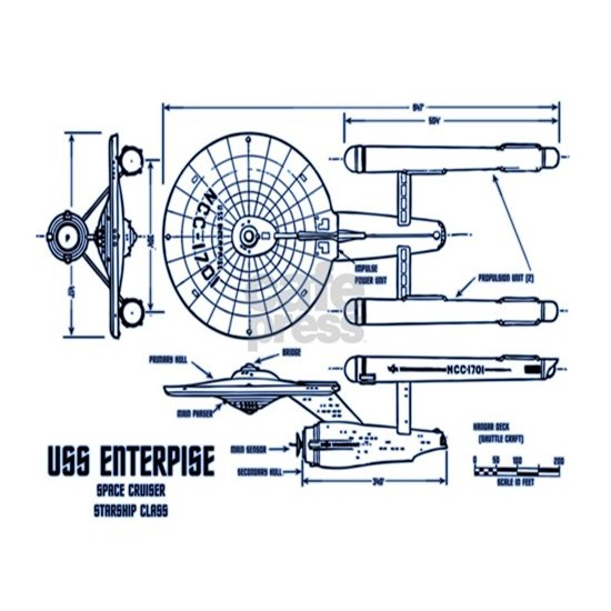 Enterprise (TOS Pilot) Blueprint