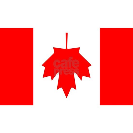 inverted canadian flag