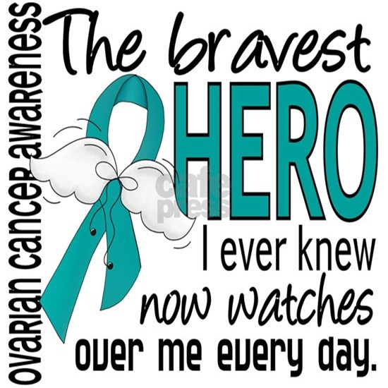 D Ovarian Cancer Bravest Hero I Ever Knew