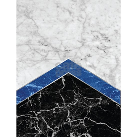 Arrows - White Marble, Blue Granite & Black Gr
