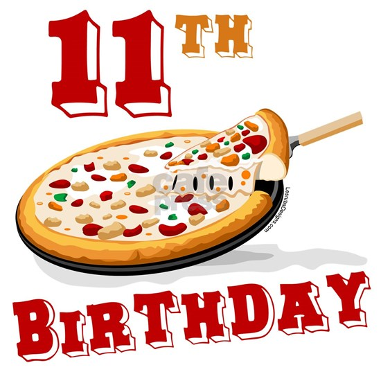 11th birthday pizza party