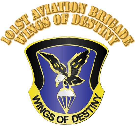 DUI - 101st  Aviation Brigade with Text