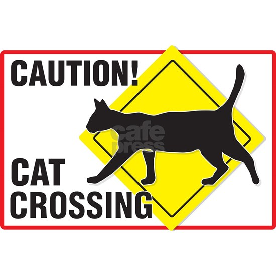 Cat_Xing_Yard_SIgn