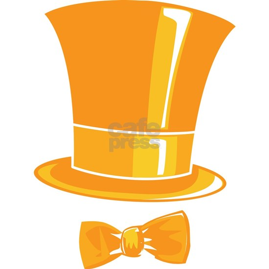 Dumb and Dumber Lloyd Christmas Orange Top Hat and