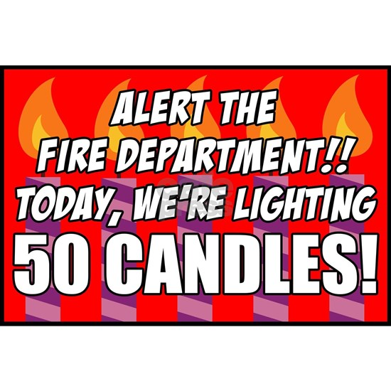 50 Candles Fire Department