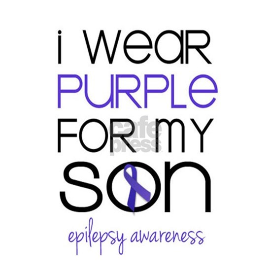 I Wear Purple for My Son