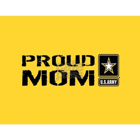 U.S. Army: Proud Mom (Gold)