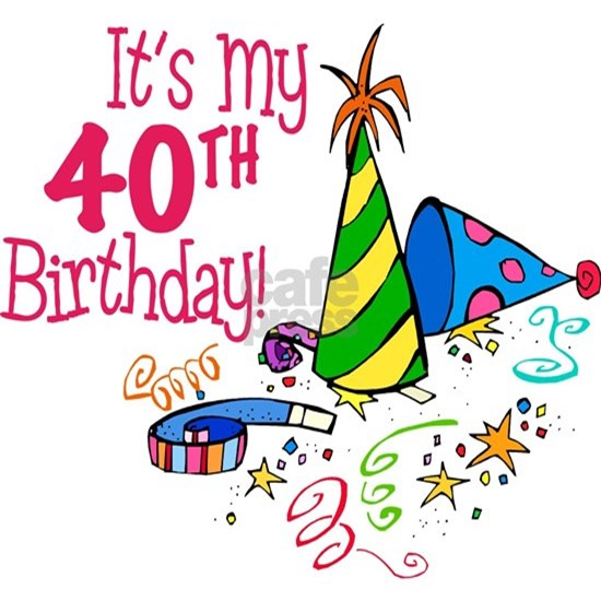 40th Birthday Party Hats Banner Itsmybirthdayhat40