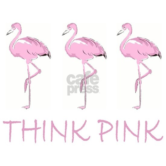 Breast cancer flamingo