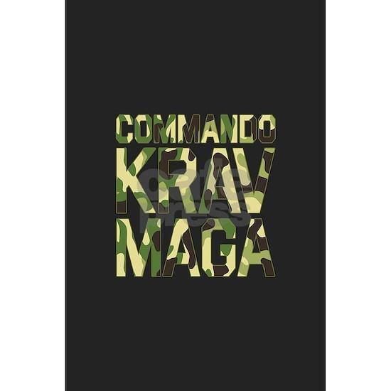 Commando Krav Maga - Green Camouflage Banner