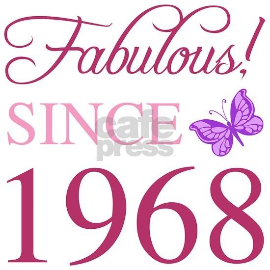 1968 Fabulous Birthday