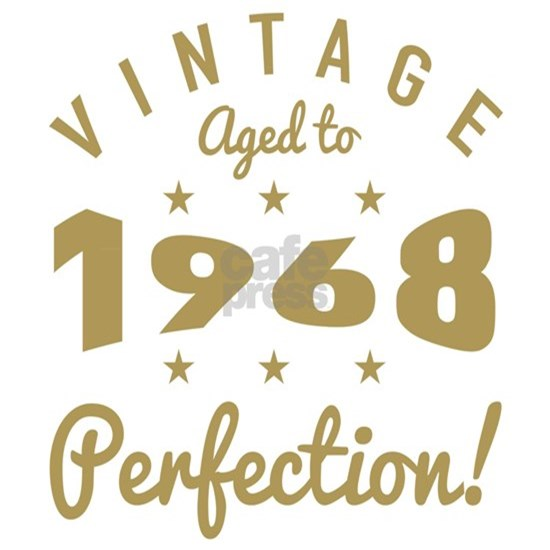 1968 Vintage Birth Year