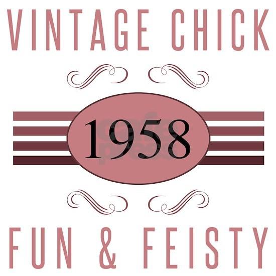1958 Vintage Chick
