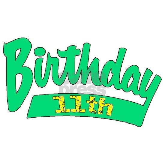 11th birthday b