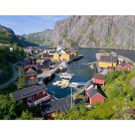 Fishing village, Norway