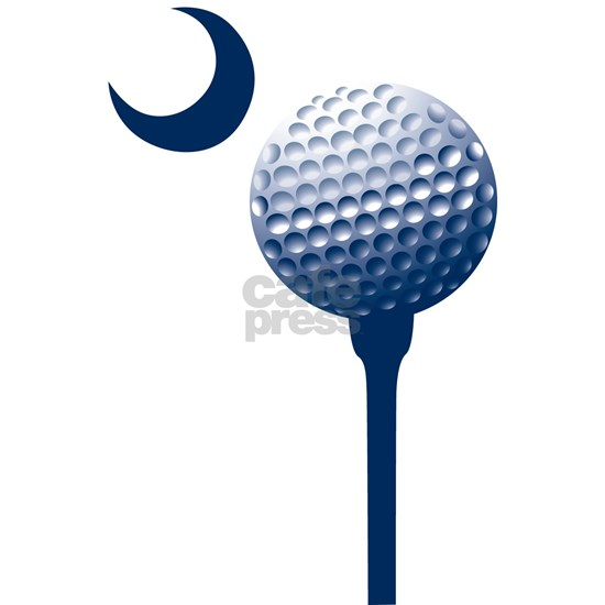 sc golf ball blue