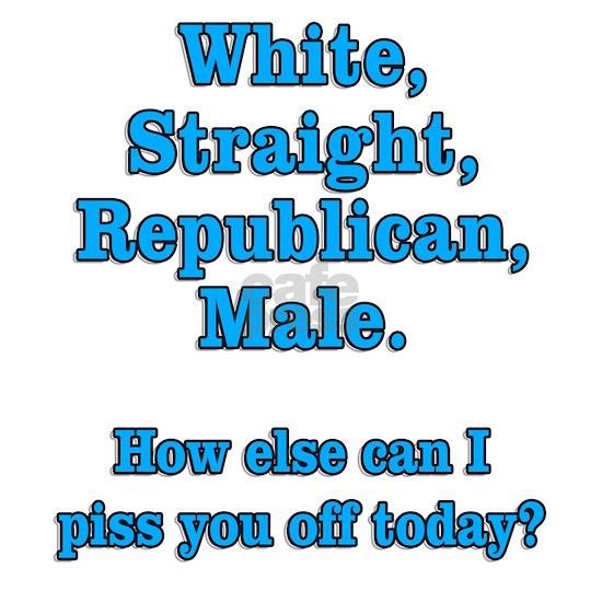 White Straight Republican Male