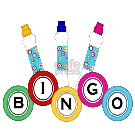 BINGO WITH MARKERS