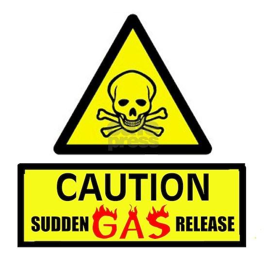 GAS RELEASE SUDDEN